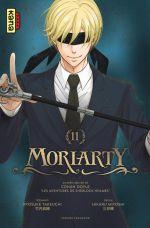 Moriarty T11, manga chez Kana de Takeuchi, Doyle, Miyoshi