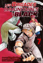Les brigades immunitaires Black  T7, manga chez Pika de Shigemitsu, Issei