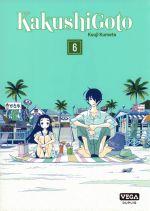 Kakushigoto T6, manga chez Dupuis de Kumeta