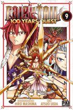 Fairy tail 100 years quest T9, manga chez Pika de Mashima, Ueda