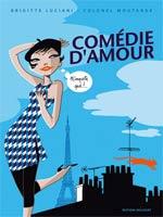 Comédie d'amour, bd chez Delcourt de Luciani, Colonel Moutarde