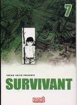 Survivant T7, manga chez Milan de Saïto