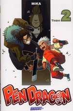 Pen Dragon T2, manga chez Les Humanoïdes Associés de Mika