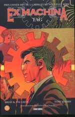 Ex Machina T2 : Tag (0), comics chez Panini Comics de Vaughan, Harris, Mettler