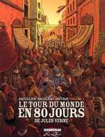 Le tour du monde en 80 jours, de Jules Verne T1, bd chez Delcourt de Dauvillier, Soleilhac, Jouvray