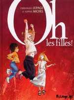 Oh, les filles !, bd chez Futuropolis de Michel, Lepage