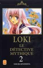 Loki Le Détective Mythique T2, manga chez Kami de Kinoshita