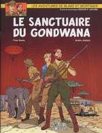 Blake & Mortimer T18 : Le sanctuaire du Gondwana (0), bd chez Blake et Mortimer de Sente, Juillard, Demille