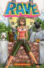 Rave T30, manga chez Glénat de Mashima
