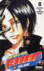 Reborn ! Mon prof le tueur T8 : Les boys du quartier voisin (0), manga chez Glénat de Amano