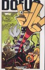 Dofus T8 : Rushu Hour, manga chez Ankama de Tot, Brunowaro, Ancestral z, Mojojojo
