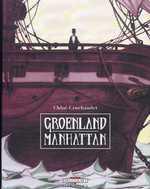 Groenland Manhattan, bd chez Delcourt de Cruchaudet