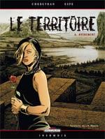 Le territoire T6 : Avènement (0), bd chez Delcourt de Corbeyran, Espé, Favrelle