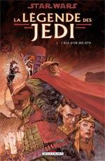 Star Wars - La légende des Jedi T1 : L'âge d'or des Sith (0), comics chez Delcourt de Anderson, Gosset, Carrasco, McNamee, Rambo, Fegredo