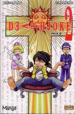 Death Joke T2, manga chez Clair de Lune de Amano, Sakano