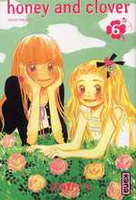 Honey and clover T6, manga chez Kana de Chica