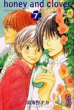 Honey and clover T7, manga chez Kana de Chica