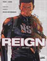 Reign T1 : Day-One (0), bd chez Soleil de Tehy, Cara, Lerolle, Nyman