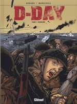 D-Day T1 : Overlord (0), bd chez Glénat de Godard, Marshall