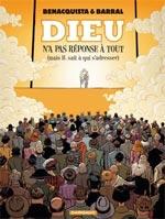 Dieu n'a pas réponse à tout T2 : (mais IL sait à qui s'adresser) (0), bd chez Dargaud de Benacquista, Barral, Delf