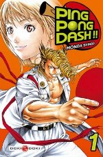 Ping Pong Dash !! T1, manga chez Bamboo de Honda