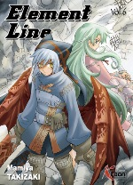 Element Line T6, manga chez Ki-oon de Takizaki