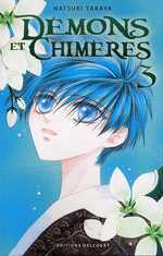 Démons et chimères T3, manga chez Delcourt de Takaya
