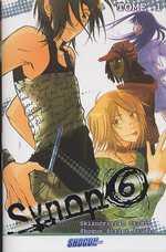 Synop6 T1, manga chez Les Humanoïdes Associés de Shogun script studio, Mathieu, N'dish, Irons.D, Skizokrilian studio