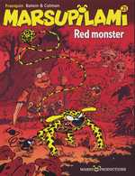 Marsupilami T21 : Red monster, bd chez Marsu Productions de Batem, Colman, Cerise