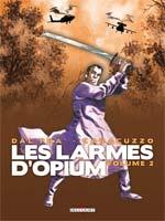 Les larmes d'opium T2, bd chez Delcourt de Dal pra', Caracuzzo