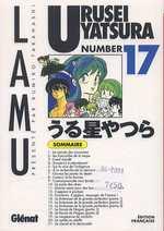 Urusei Yatsura - Lamu T17, manga chez Glénat de Takahashi