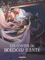 Les contes du boudoir hanté T1, bd chez Delcourt de Li, Morvan