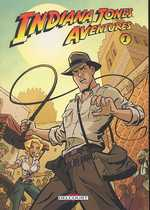 Indiana Jones Aventures T1, comics chez Delcourt de Gelatt, Beavers, Pattison