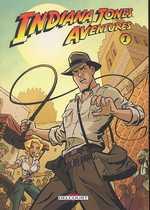 Indiana Jones Aventures T1, comics chez Delcourt de Gelatt, Beavers, Pattison