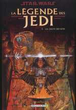 Star Wars - La légende des Jedi T2 : La chute des Sith (0), comics chez Delcourt de Anderson, Carrasco, Murtaugh, Fegredo