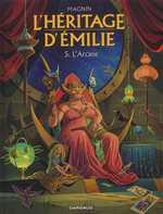 L'héritage d'Emilie T5 : L'arcane (0), bd chez Dargaud de Magnin