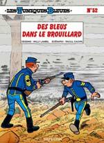 Les Tuniques bleues T52 : Des bleus dans le brouillard (0), bd chez Dupuis de Cauvin, Lambil, Léonardo
