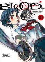 Blood+ T1, manga chez Glénat de Katsura