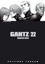 Gantz – 1e edition, T22, manga chez Tonkam de Oku