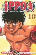 Ippo – Saison 1 - La rage de vaincre, T10, manga chez Kurokawa de Morikawa