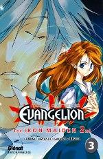 Neon-Genesis Evangelion The Iron Maiden 2nd T3, manga chez Glénat de Khara, Gainax, Hayashi