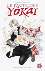 Le pacte des Yôkai T1, manga chez Delcourt de Midorikawa