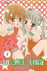 Nosatsu Junkie T1, manga chez Panini Comics de Fukuyama