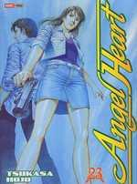 Angel heart T23, manga chez Panini Comics de Hôjô