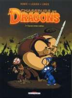 Chasseurs de dragons T2 : Copains comme zombies (0), bd chez Delcourt de Venant, Lorien