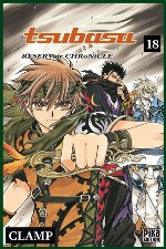 Tsubasa RESERVoir CHRoNiCLE T18, manga chez Pika de Clamp