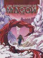 Les chroniques de Magon T6 : Héritage (0), bd chez Delcourt de Jarry, Lapeyre, Brants