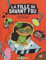La fille du savant fou T3 : L'équation inconnue (0), bd chez Delcourt de Sapin, Clémence