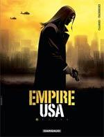 Empire USA – Saison 1, T1, bd chez Dargaud de Desberg, Yann, Griffo, Bautista, Burgazzoli, Denoulet