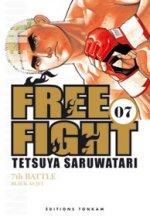 Free Fight - New tough T7, manga chez Tonkam de Saruwatari